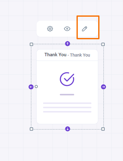 WP Funnels Thank You Page Edit Option