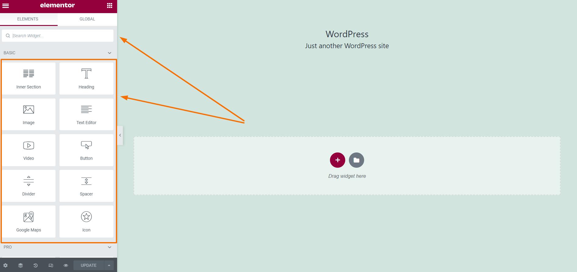 WPFunnels Add Elementor Widget